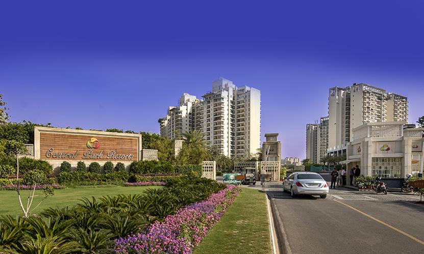 no seepage at central park gurgaon